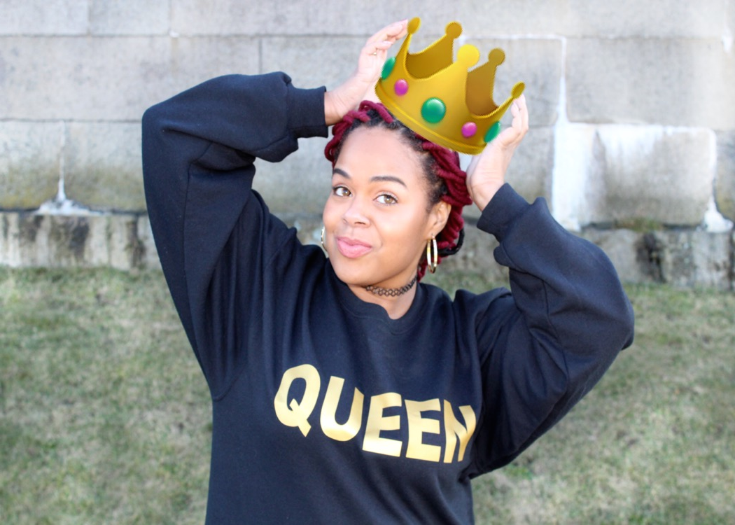 Plus Size Queen Sweatshirt