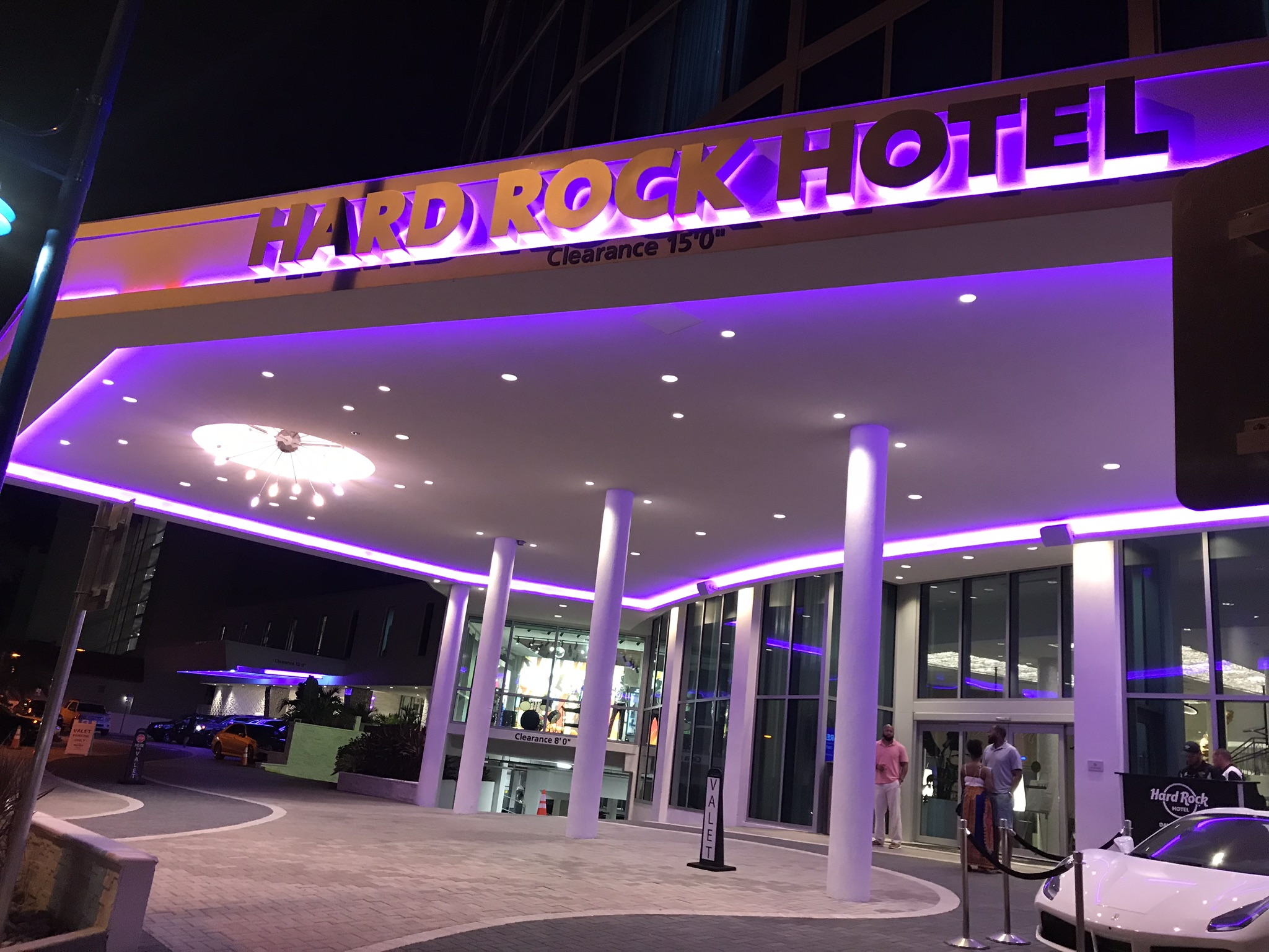 The Hard Rock Hotel Daytona Beach